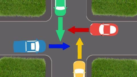 Vorfahrtsquiz: Wer darf zuerst fahren?