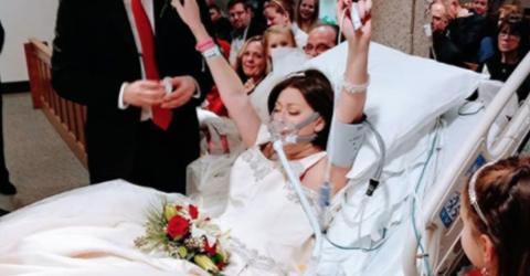 Die Braut gibt ihrem Verlobten das Ja-Wort. Nur kurze Zeit später ist sie tot.