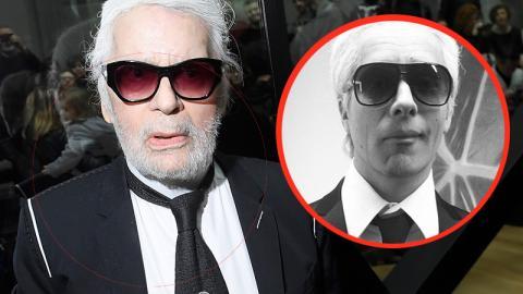 Oliver Pocher verabschiedet sich von Karl Lagerfeld und erntet einen Shitstorm