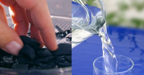 Aktivkohle im Wasser: so gesund ist dieser Trend!