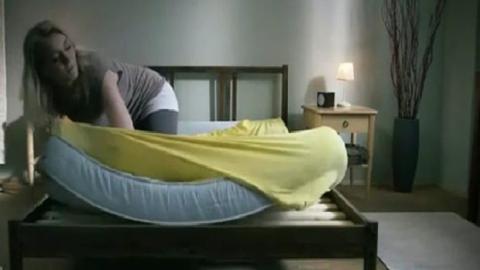 Wenn du das weißt, machst du nie mehr dein Bett! Ist doch super und spart Zeit!