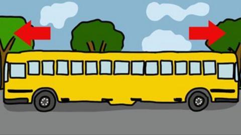 Nur jeder 3. erkennt, in welche Richtung der Bus fährt!