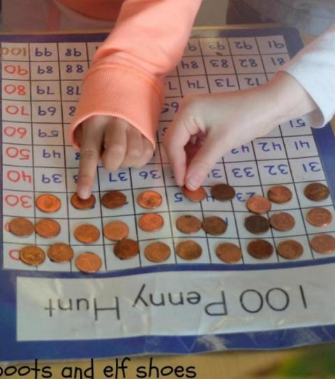 münzen schuhsohle