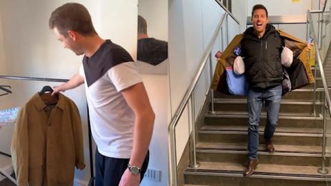 Neue Gepäckbestimmungen von Ryanair: Er sieht nicht ein mehr zu zahlen und hat eine geniale Idee