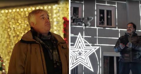 Diese Nachbarn streiten sich um die schönere Weihnachtsbeleuchtung. Was dann passiert, musst du gesehen haben!
