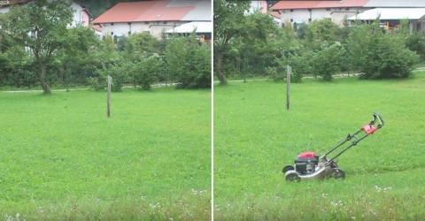 UNGLAUBLICH! Mit diesem Trick fährt dein Rasenmäher von ganz allein!