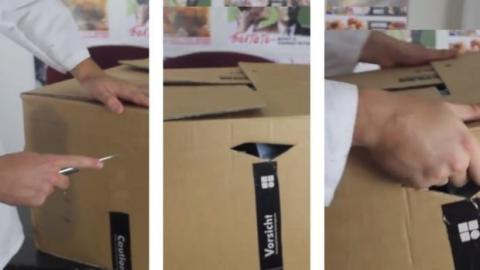 Dieser Trick macht schwere Umzugskartons tragbar