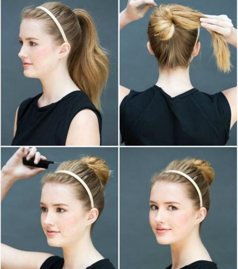 8 Ganz Einfache Frisuren Die Du Zu Hause Machen Kannst