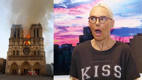 Brand in Notre Dame: Natascha Ochsenknecht empört über 700 Millionen Euro-Spende