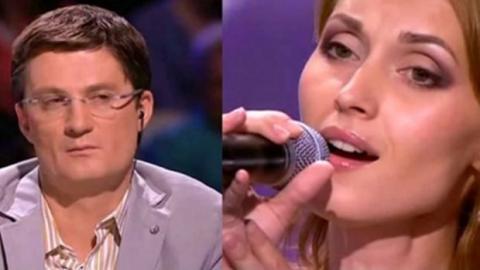 Die Jury denkt, sie singt Playback und zwingt sie, die Musik auszuschalten