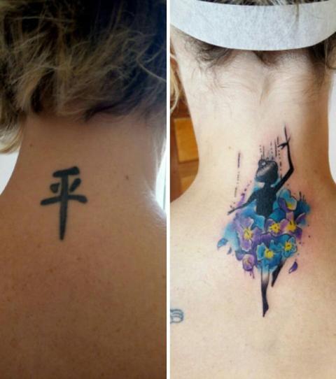Cover Up Ideen Fur Misslungene Tattoos