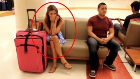 Diese Frau hat die schönste Überraschung nach ihrer Rückkehr von einer Reise gehabt. Da bleibt kein Auge trocken.