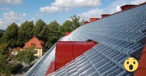 Was der Nachbar mit seinem Dach gemacht hat, als wir in Urlaub waren, macht die Runde im ganzen Ort!