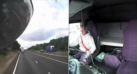 LKW-Fahrer mit Handy sorgt für Unfall und Familientragödie