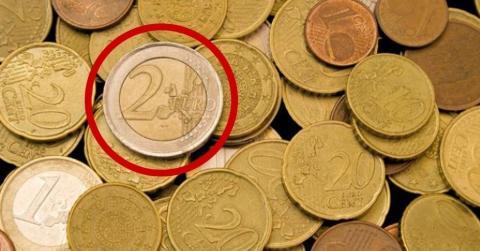 Wenn du das auf einer 2-Euro-Münze siehst, dann hat sie mehrere hundert Euro Sammlerwert