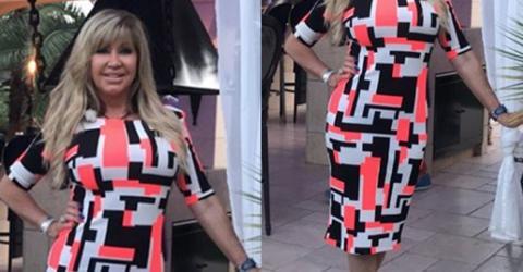 Carmen Geiss versteckt diese geheime Nachricht hinter neuem Kleid!