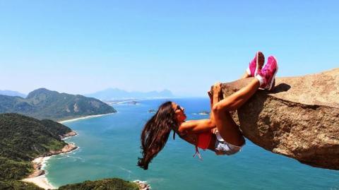 Immer mehr Touristen trauen sich zu solchen Fotos, doch dahinter steckt ein einfacher Trick