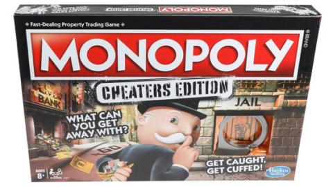 Es gibt ein neues Monopoly für alle, die gerne schummeln!