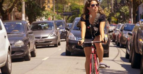 Für mehr Sicherheit im Verkehr lassen sich Radfahrer etwas Geniales einfallen