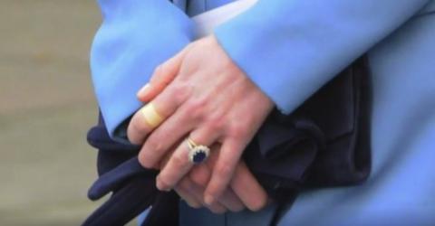 Die traurige Wahrheit hinter den Pflastern an Kate Middletons Fingern