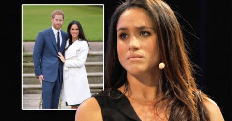 Erst jetzt wird bekannt, dass Harry Meghan offiziell verboten hat, eine Person zur Hochzeit einzuladen