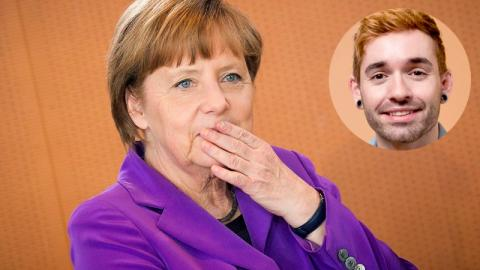Küblböck: Auf Instagram lüftet er Angela Merkels größtes Geheimnis