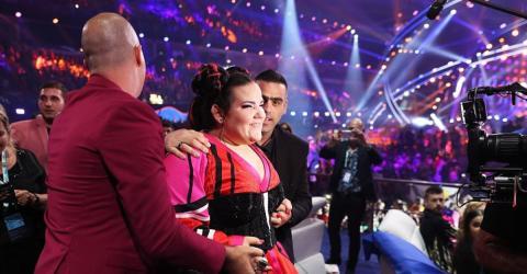 Eurovision: Im Siegestaumel kommt es zu fragwürdiger Szene