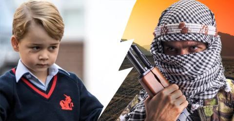 Terror-Anschlag auf Prinz George: Jetzt wird der schlimme islamistische Plan öffentlich, der verhindert werden konnte
