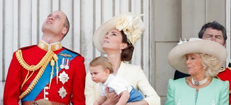 Prinz Louis hat sich eine schlechte Angewohnheit von Onkel Prinz Harry abgeguckt