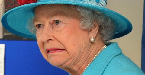 Not amused: Die Queen ist schockiert über das Zuhause von William und Kate