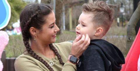 Sarah Lombardi: Wie soll sie das nur Pietros Sohn beibringen?