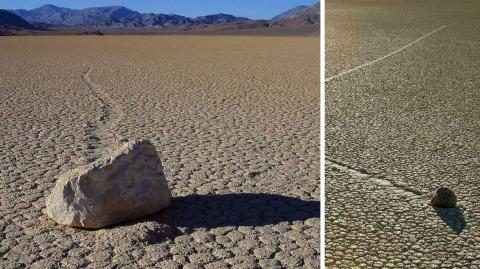 Diese Steine bewegen sich von selbst - der Grund ist faszinierend!