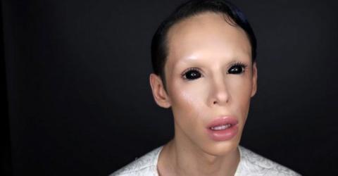 Vinny Ohh ist weder Frau noch Mann, sondern...geschlechtsloser Alien