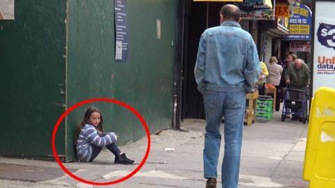 Dieses kleine Mädchen hat seine Mutter verloren, die Reaktionen der Passanten sind teilweise erschreckend.