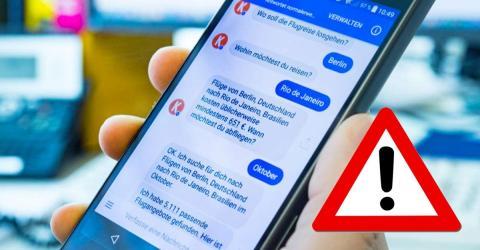 Virus-Warnung für Facebook Messenger
