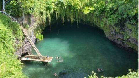 Der versteckte Pool To Sua - ein magischer Ort der Natur