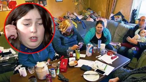 Hartz IV-Tochter will sauber machen. Zuschauer empört über Reaktion der Familie