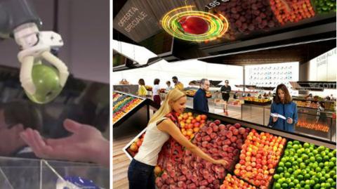 So sieht der Supermarkt der Zukunft aus