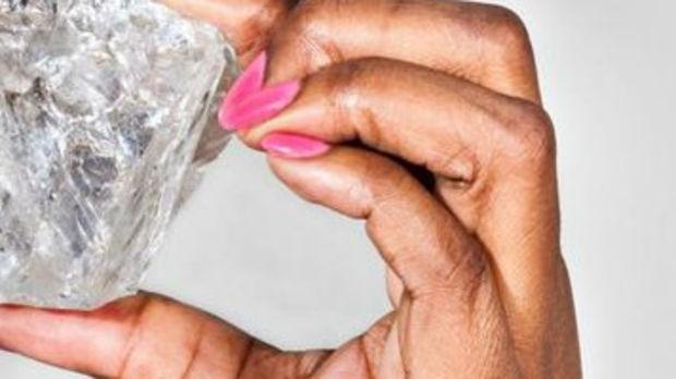 afrika entdeckung eines der gr ten diamanten der welt. Black Bedroom Furniture Sets. Home Design Ideas
