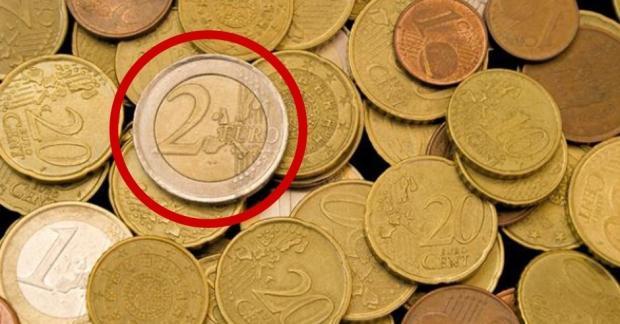 2-Euro-Münze Monaco
