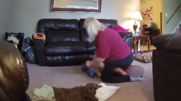 Babysitter wird von Kamera überführt