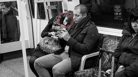 Fotograf Babycakes Romero und Smartphone Abhängigkeit