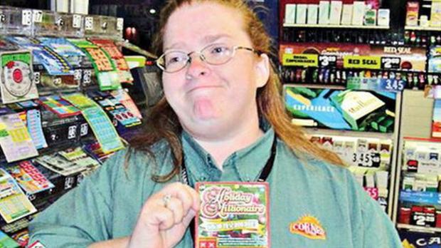 Joan R. Ginther gewann 4-mal im Lotto