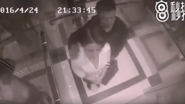 Sexuelle Belästigung im Aufzug