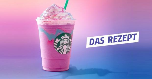 Einhorn Frappuccino