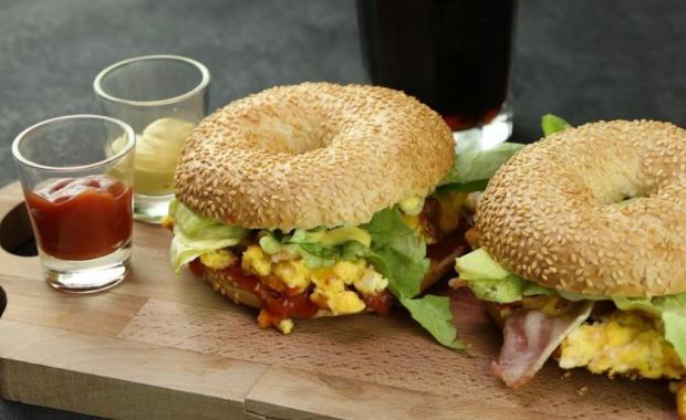 Lust auf ein Frühstücks-Sandwich?