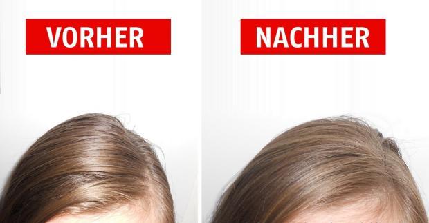 fettige haare loswerden mit sen tricks klappt es