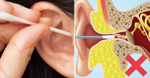 Ohren richtig reinigen