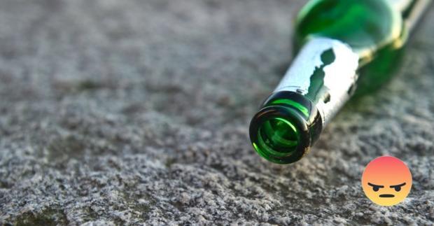 Der Bierflaschentrick von Dieben