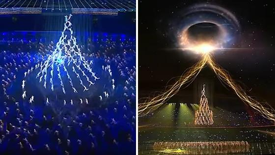 Weihnachtsbaum-Formation